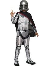 Star Wars The Force Awakens Captain PHASMA Child Costume Medium Halloween PLAY - $19.79