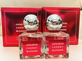 2 New Bath Body Works Japanese Cherry Blossom Eau De Parfum 1.7 Oz 50 ML Perfume - $112.86