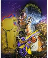 Kobe Bryant Tribute Painting - $157.50