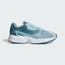 Adidas Originals Women's Blue Falcon Leather Suede Fashion Sneakers EF1963 - $105.33