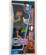 NEW MATTEL 2012 MONSTER HIGH CLAWDEEN WOLF Dead Tired Doll In Box - $39.59