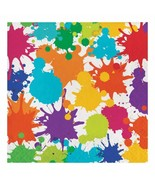 Art Party Lunch Dinner Napkins Birthday Party Supplies 16 Per Package New - $4.84