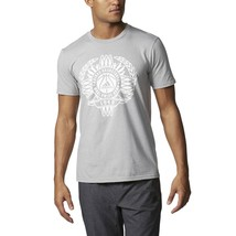 Adidas Originals Global Game Men's Short Sleeve T-Shirt Grey-White bp7757 - $24.95