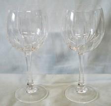 Royal Crystal Rock Linea Wine Goblet Stem Pair - $34.54