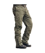 Airborne Jeans Casual Training Cotton Breathable Multi Pocket Military A... - $59.88