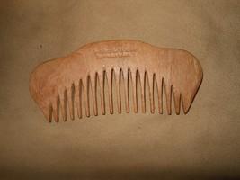 """5.5"""" WOOD COMB handmade in brazil BY WALKER & WALKER NEW! FREE SHIP - $8.86"""