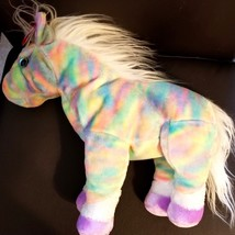 TY 2003 BEANIE BUDDY CLASSIC -  OPAL - THE PASTEL RAINBOW HORSE RETIRED ... - $12.05