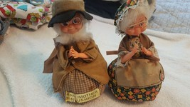 2 Vintage Grandmother Pincushion's. Made in Hong Kong - $7.42