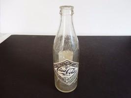75th Anniversary Coca Cola Commemorative Glass Bottle  Chattanooga 1974 - $13.10