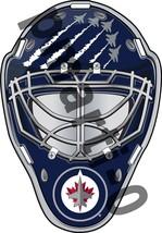 Winnipeg Jets Front Goalie Mask Vinyl Decal / Sticker 10 Sizes!!! - $2.99+