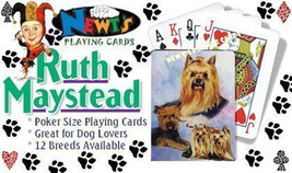Playing cards: Yorkshire Terrier Dogs Designed by Ruth Maystead - $6.64