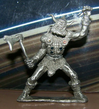 Rare Vintage Dungeons & Dragons Metal Miniature D&D Ral Partha Pewter Giant Axe - $35.99