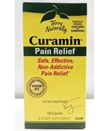 Terry Naturally Curamin Stop Pain Relief Supplement Sealed 120 Capsules - $144.02