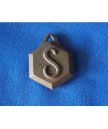 Sessions Pendulum Bob 2.3 oz 8 sided type in cast metal - $4.99