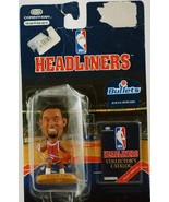 JUWAN HOWARD / WASHINGTON BULLETS * 3 INCH * 1996 NBA Headliners Basketb... - $23.51