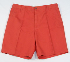 Izod Saltwater Baked Apple Flat Front Casual Shorts Men's NWT - $37.49