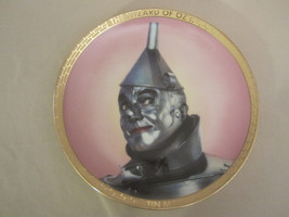 TIN MAN collector plate WIZARD OF OZ PORTRAITS Thomas Blackshear - $48.33