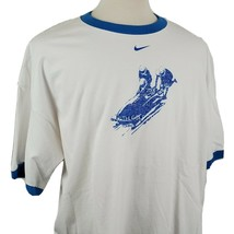 Nike Team Torino Italy 2006 Olympic Winter Games Ringer T-Shirt XXL USA ... - $19.99