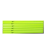 NEW Nike Unisex Running Headband Swoosh Sport NEON GREEN BLACK Logo - $6.50