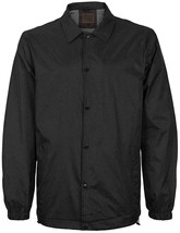 Men's Water Resistant Lightweight Button Up Windbreaker Jacket New w/Defect
