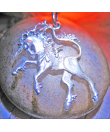 Haunted NECKLACE STRENGTHS OF MYTH & LORE MAGICK 925 UNICORN WITCH Cassia4  - $67.77