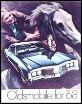 1968 Oldsmobile Prestige Brochure 442 Cutlass Toronado - $12.99