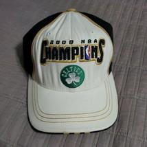 Boston Celtics Champions Hat NBA Basketball 2008 NBA Finals Adidas Locker Room - $19.99