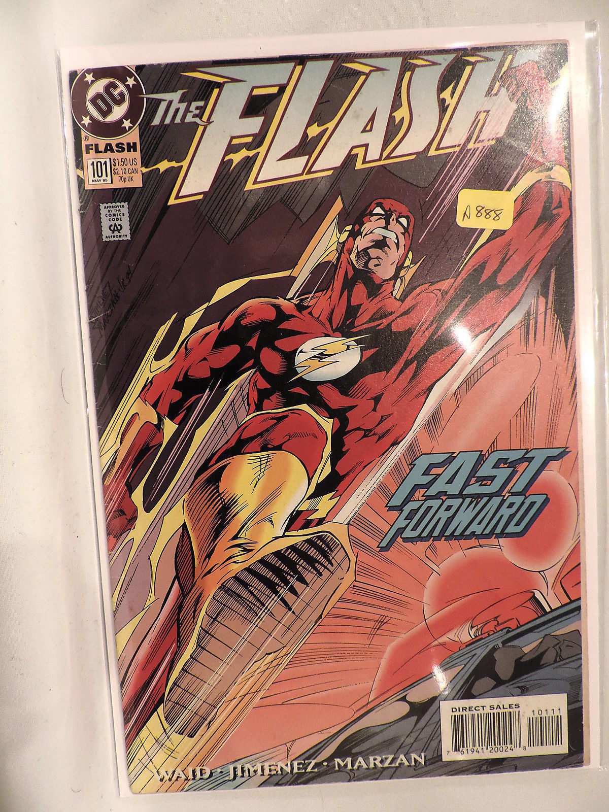 #101 The Flash1995 DC Comics A888
