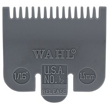Wahl Professional Color Coded Comb Attachment #3137-101 – Grey #1/2 – 1/... - $4.64