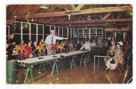 Onawa Lodge Casino Mountainhome PA Pocono Mountains Resort Vintage 1953 Postcard - $5.99