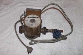 grundfos 8413 Recirculator Pump powers on but may need repair -as is- read - $127.41