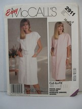 McCall's Pattern 2911 Miss Size 10-12-14 Pullover Straight Dress Uncut 1... - $10.88