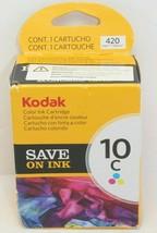 Kodak 10C Color Ink Cartridge New Sealed Genuine OEM - $18.00