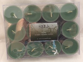 Christmas Tealight Candles Green, Pine Scented Package of 24 Pcs. - $9.50