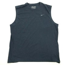 Nike Sports Tank Mens Blue Sleeveless Size XL 1X Adult Gym Basketball Workout - $8.92