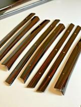 Mercedes W109 280SEL Long Chasis Ebony Wood Window Trims 10 Pieces set - $419.82