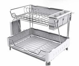 Innokha 2-Layer Dish Rack Tableware Tray