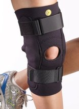 "Corflex Posterior Adjustable Knee Sleeve w/Cor-Trak Buttress & Hinge 3/16"" M - $60.99"