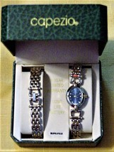 Capezio Watch and Bracelet Set Gold-Tone in box Signed - $15.95