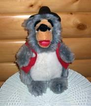 "Disney Productions Vintage ALL Plush Country Bears Jamboree 17"" BIG AL - $14.95"