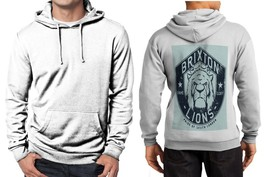 Brixton Lions Fame and Glory Limited Classic Hoodie Men White - $39.99