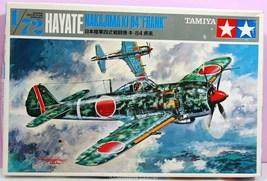 "1/72 Scale Nakajima Type-4 KI 84 Hayate ""FRANK"" Kit No. 104  - $10.75"