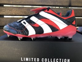 Adidas Predator Accelerator FG Remake 2018 FG Black/Red/White, Size 9 US - $680.00