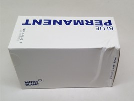 "Montblanc Ink Bottle Permanent Blue 107756 ""Open Box"" - $23.99"