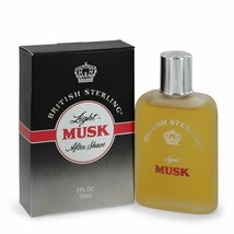 British Sterling Light Musk Cologne By  DANA  FOR MEN  2 oz After Shave - $43.50