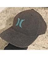 HURLEY Men's Flexfit Hat Smokey Heather Tweed size L/XL - $9.85