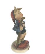 Vintage Hummel Goebel The Little Hiker Figurine Boy W. Germany Staff Repaired - $12.17