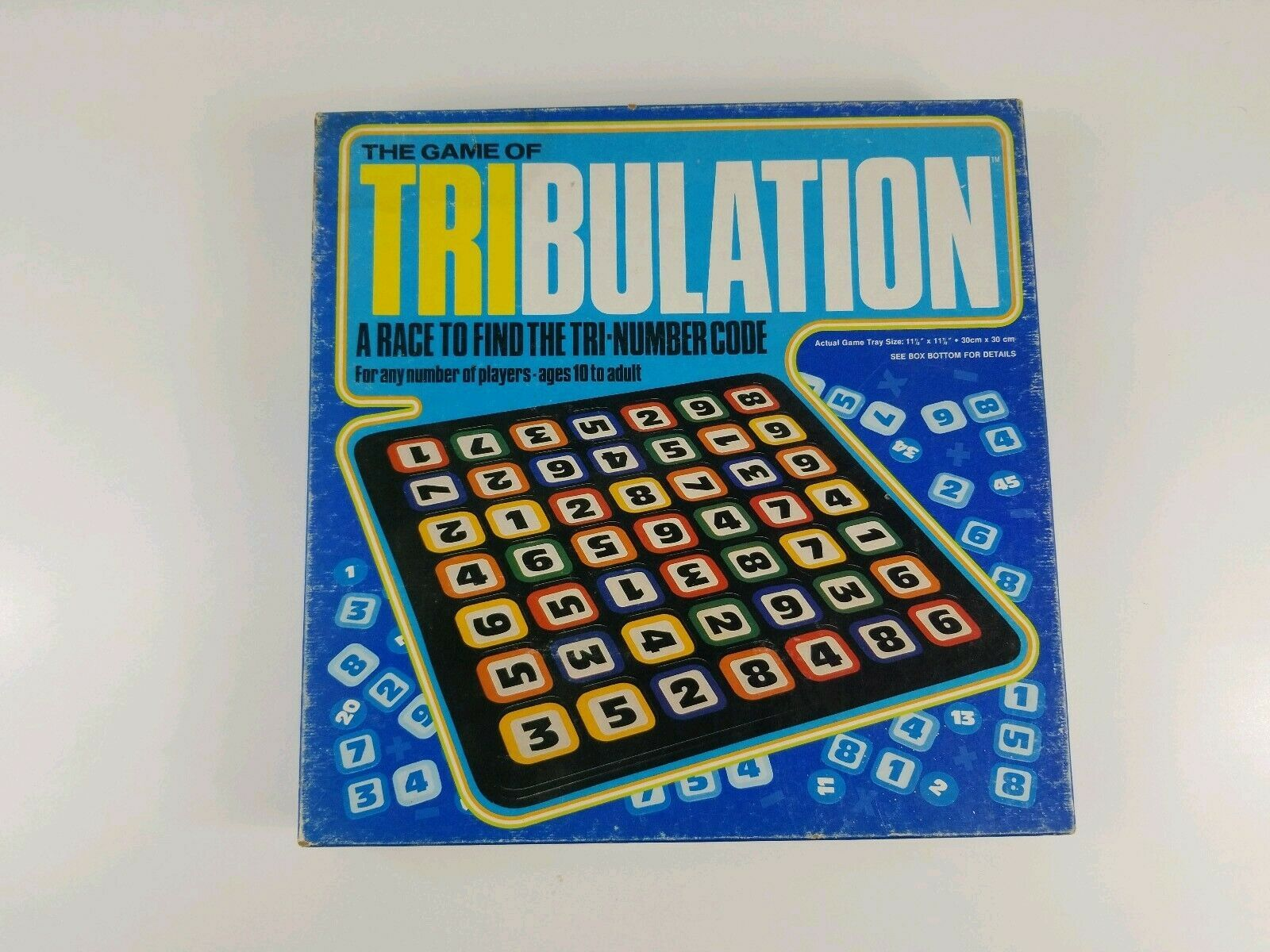 Primary image for Vintage The Game of TRIBULATION Board Game (Whitman, 1981) New Opened Unplayed