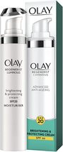 Olay Regenerist Luminous Anti-Ageing Cream with SPF20, Niacinamide, 50 ... - $12.75