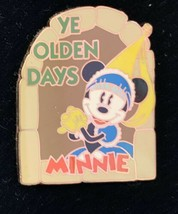 DISNEY MICKEY & MINNIE MOUSE YE OLDEN DAYS COLLECTIBLE PIN AUTHENTIC RARE - $25.98